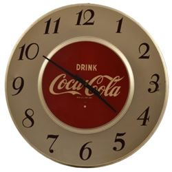 Drink Coca-Cola Advertising Clock