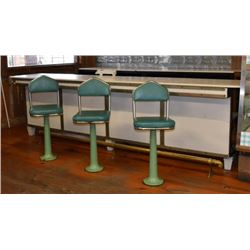 Centerpoint Station Ice Cream Counter & Stools