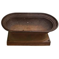 Cast Iron Town Water Trough