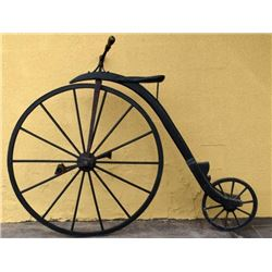 Wooden High Wheel Bicycle
