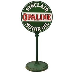 Sinclair Opaline Lollipop Sign