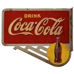 Coca-Cola Sun Dot Flange Sign