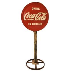 Coca-Cola In Bottles Lollipop Sign