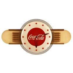 Coca-Cola Art Deco Clock