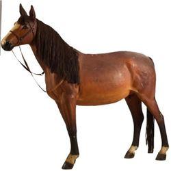Saddle Shop Display Horse