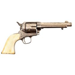 Engraved Colt Model 1873 Single Action Army .45