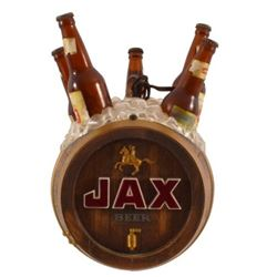 Jax Beer Barrel Hanging Clock