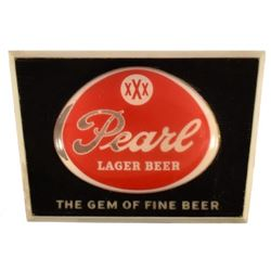 Pearl Beer Light-Up Sign