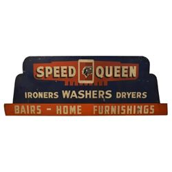 Speed Queen Washer Tin Sign