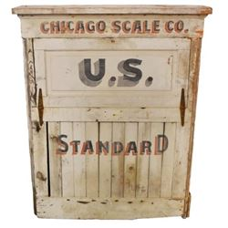 Chicago U.S. Standard Wooden Decal Box
