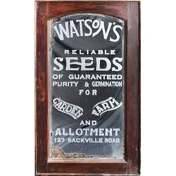 Watson's Seed Store Mirror