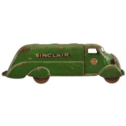 Sinclair H-C Gasoline Tanker Truck Toy
