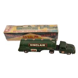 Toy Sinclair Gasoline Hauler with Box
