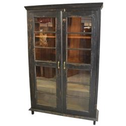 Black Store Display Cabinet