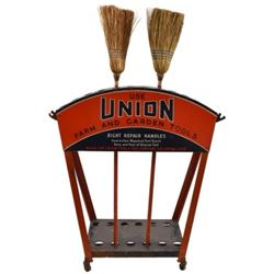 Union Tool Store Display W/ Casters