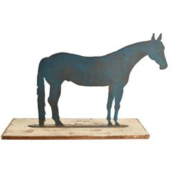 Horse Steel Cut Out