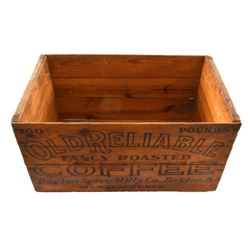 Old Reliable Coffee Crate