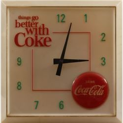 Things Go Better With Coke Light-Up Clock