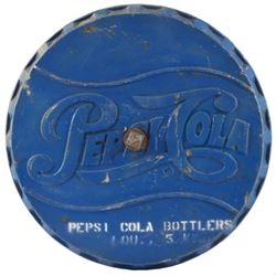 Pepsi-Cola Bottlers Blue Metal Base