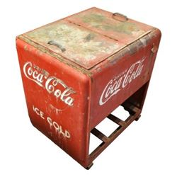 Coca-Cola Reach In-Cooler