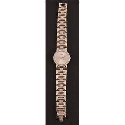 Piaget Silver Diamond Swiss Watch