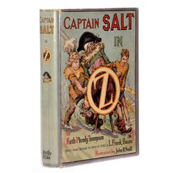 First Edition in Original First State Dust Jacket, Captain Salt in Oz