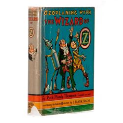 First Edition in Original First State Dust Jacket, Ozoplaning with the Wizard of Oz