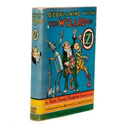 Rare Error Copy in original dust jacket, Ozoplaning with the Wizard of Oz