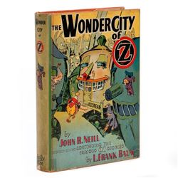 First Edition in Original First State Dust Jacket, The Wonder City of Oz
