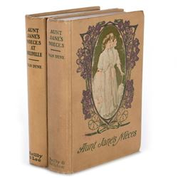 Two titles in the Aunt Jane's Nieces series