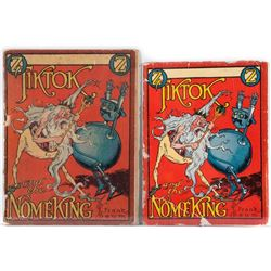 Two scarce editions of Tiktok and the Nome King by Baum