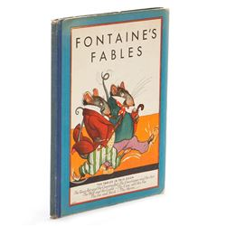 Fontaine's Fables Whitman Publishing 1934