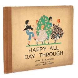 Happy All Day Through by John G. Bowman