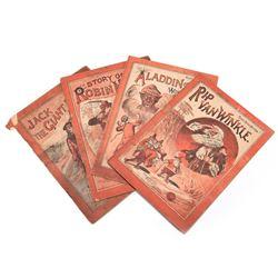 Set of 4: McLoughlin 1889 Robin Hood Series