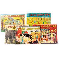Set of 5 Jolly Jump-Ups pop-up book