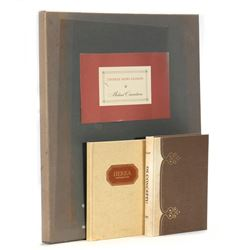 Three medical limited editions by Editions Medicina Rara Ltd