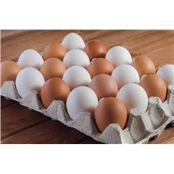 15 Dozen Local Abbotsford Farm Eggs