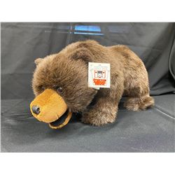 Mint Condition Hand-crafted Design Sample Plush Grizzly Bear