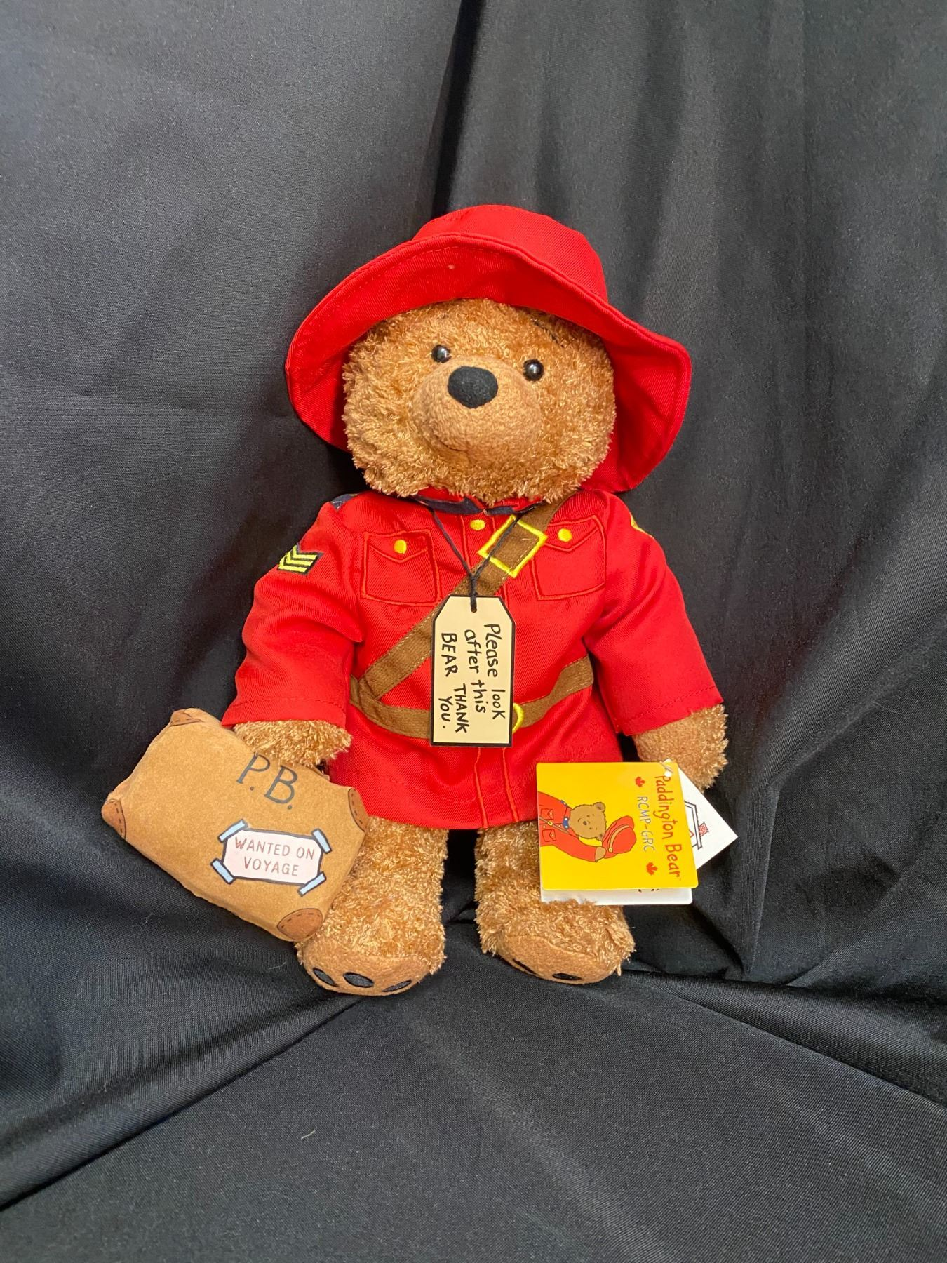 Mint Condition Limited First Edition Paddington Bear Mountie