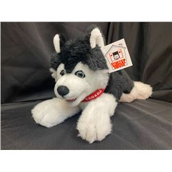 Plush Husky Pup