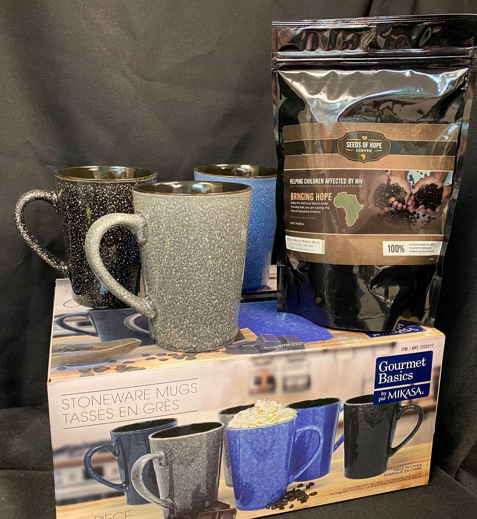 Mikasa Stoneware Mugs