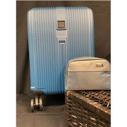 Ciao! Carry On Suitcase and Tumi Travel Kit