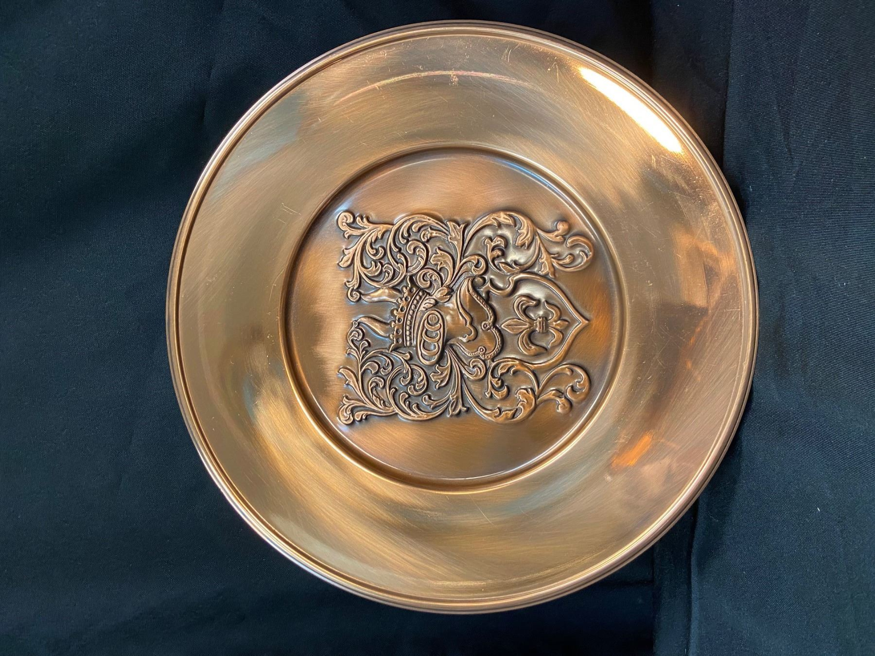 Copper Plate - Code of Arms Plate