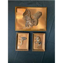 Copper Art - Set of 3