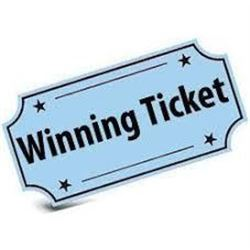 SEEDS OF HOPE GALA GIFT WINNING TICKET