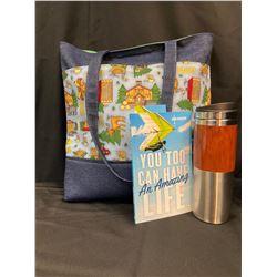 Cabin Fever Tote Bag, Book, Mug, Notepad