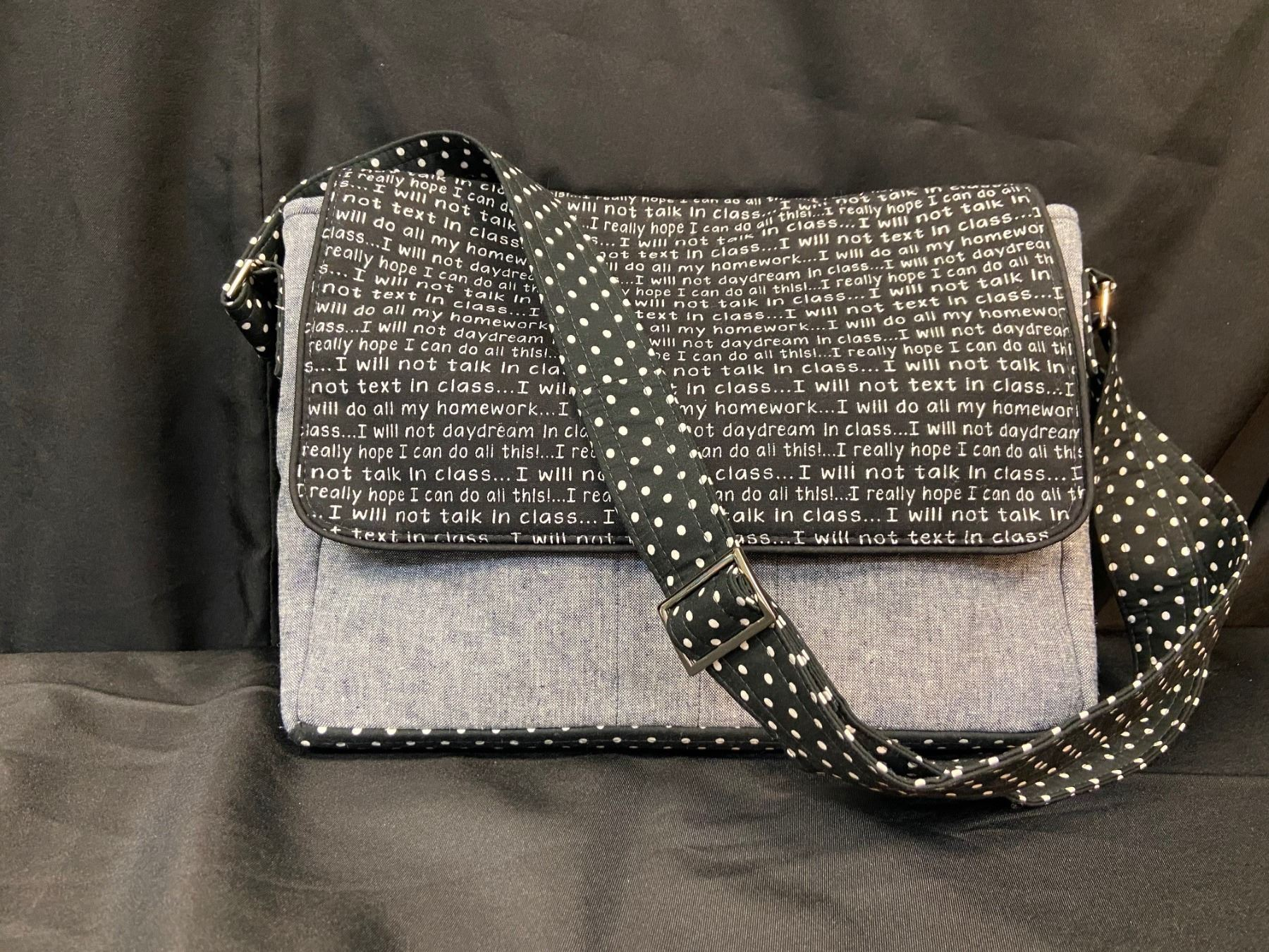 Crossbody Messenger Laptop/Tablet Tote Bag