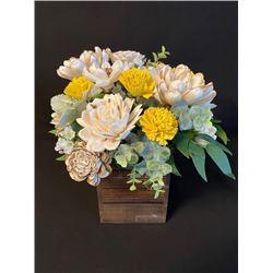 Wooden Flower Bouquet - Bellingham