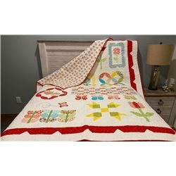 Gorgeous Handcrafted Quilt