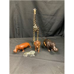 Handcrafted Wooden Animals - Zambia